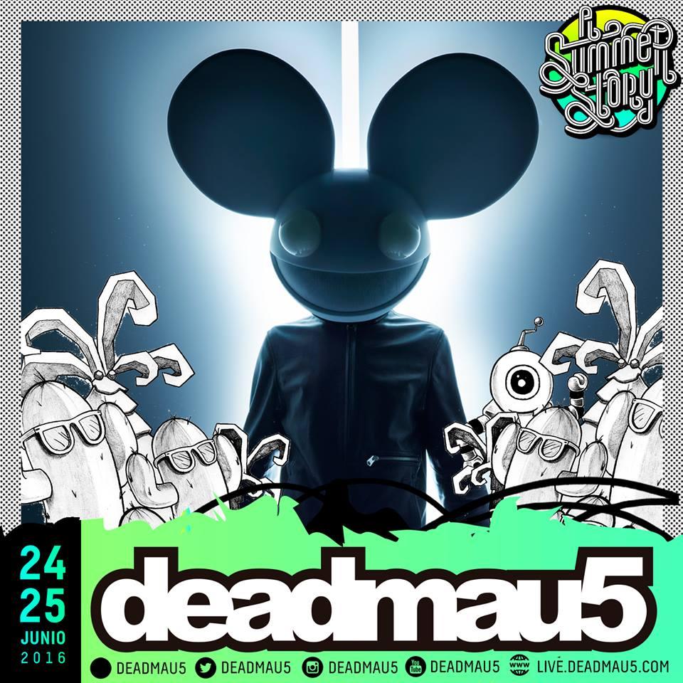 deadmau5, al A Summer Story 2016