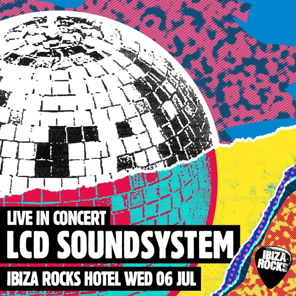 LCD Soundsystem, al Ibiza Rocks 2016