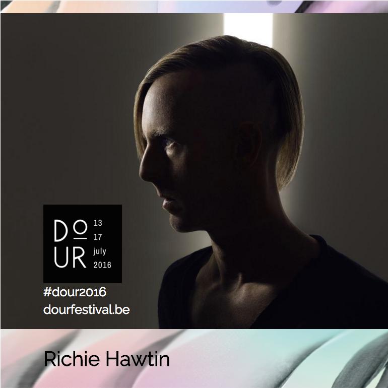 Richie Hawtin Dour Festival 2016